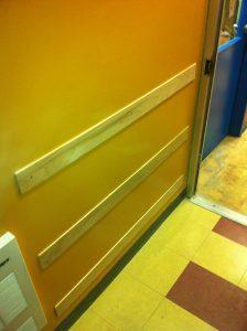 Protections murales en bois